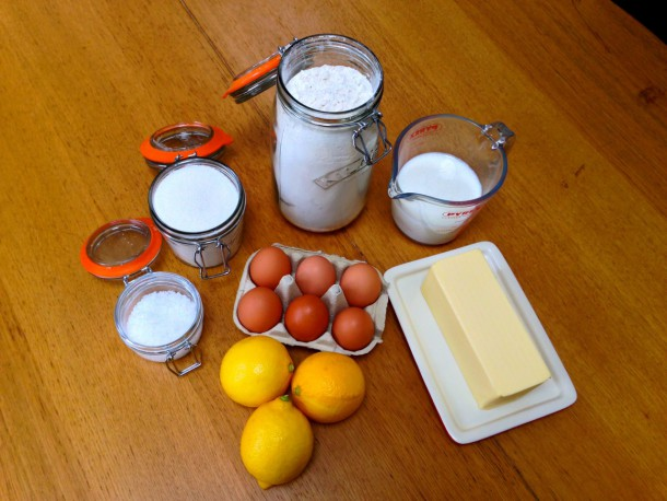 Classic Pancakes Ingredients