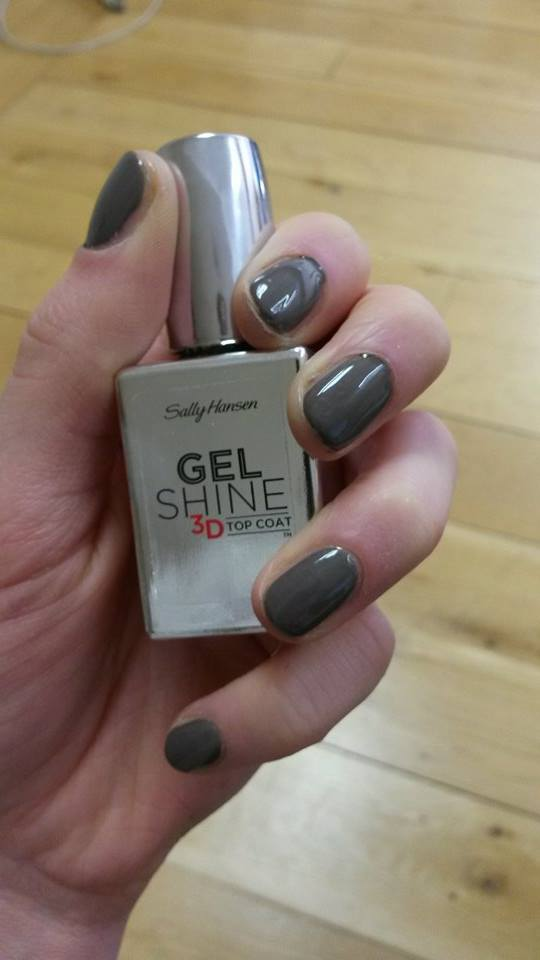 We're Upping Our Nail Game with Sally Hansen's Gel Shine 3D