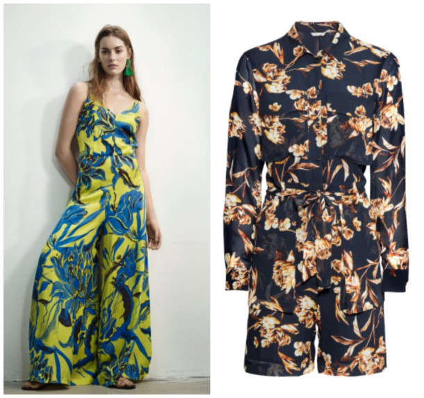 Maxi dress, 59.99; Short dress, €79.95 both from H&M