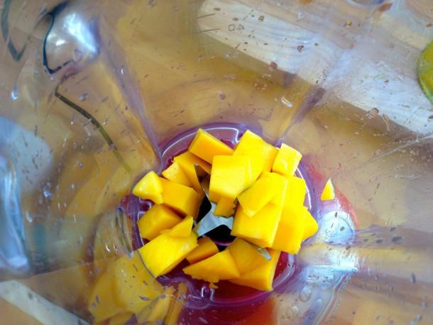 5. mango in blender