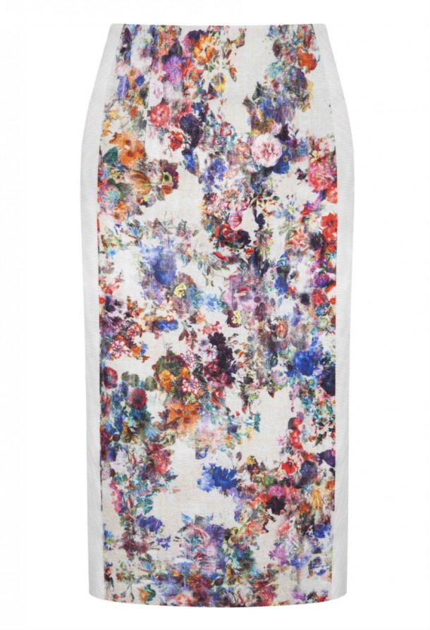 Luke Lovely Floral Skirt