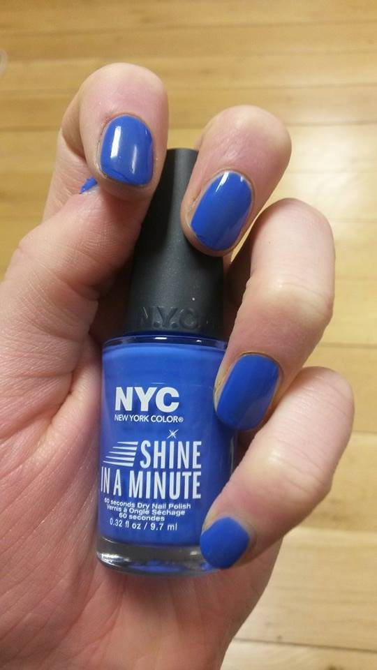 The New Shine in a Minute Nail Polishes Do What They Say on the ...