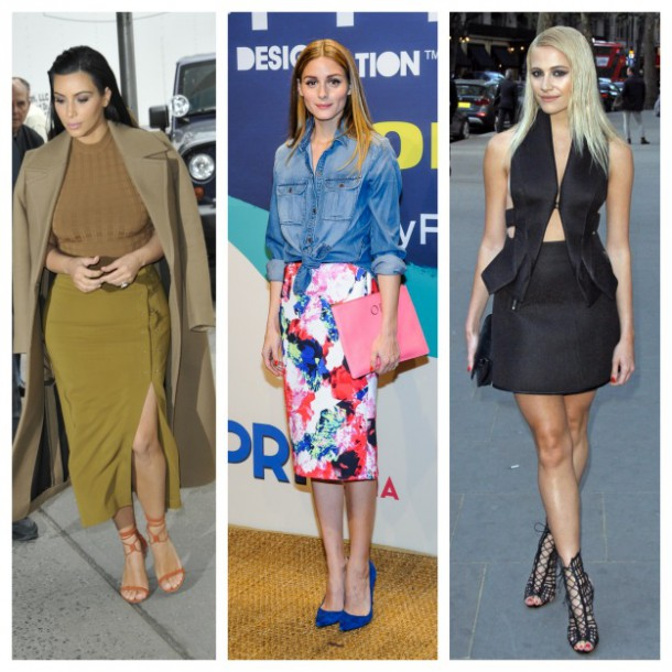 celebrity skirts