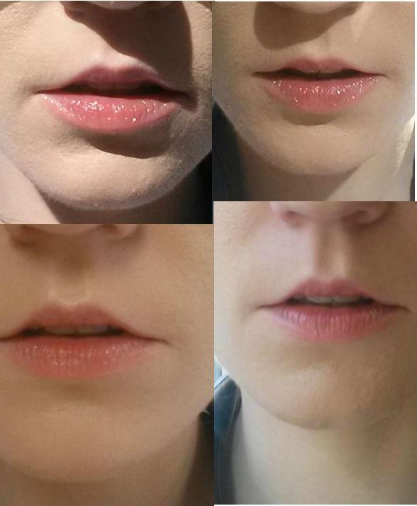 lips swatch