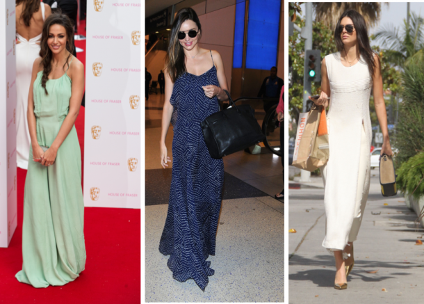 Michelle Keegan, Miranda Kerr and Kendall Jenner wearing some of my favourite maxi dresses of the summer so far!