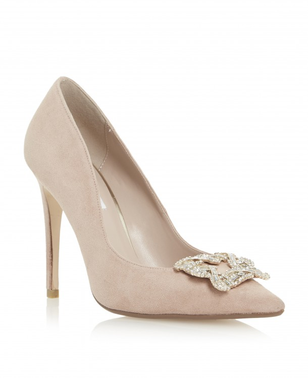 We love a nude shoe to match everything! These ones are from Dune, €120