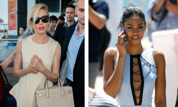 Sienna and Chanel keeping their accessories minimal at the recent Cannes Film Festival
