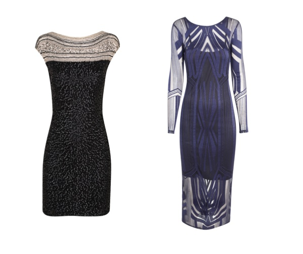 Party dresses from the Autumn Winter collections at Miss Selfridge