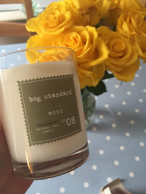 Large Moss Candle £12.95