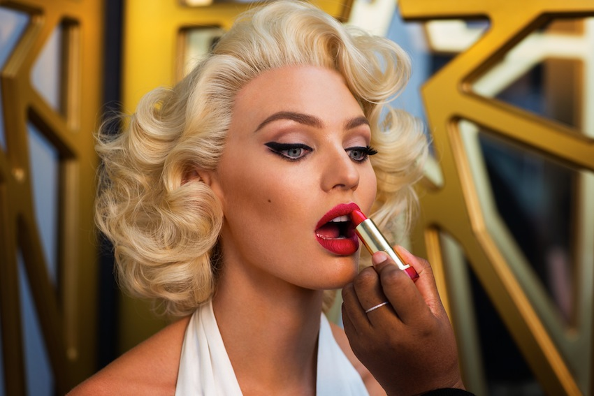 Max Factor Marilyn Monroe CI ft Candice Swanepoel 9