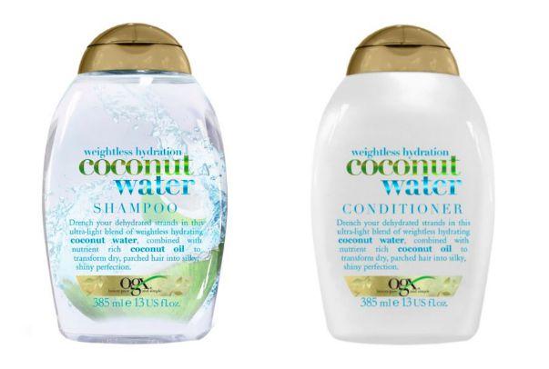Coconut Water Shampoo Conditioner Hair