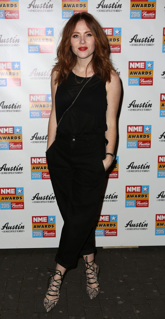 2015 NME Awards at Brixton Academy - Arrivals Featuring: Angela Scanlon Where: London, United Kingdom When: 19 Feb 2015 Credit: Lexi Jones/WENN.com