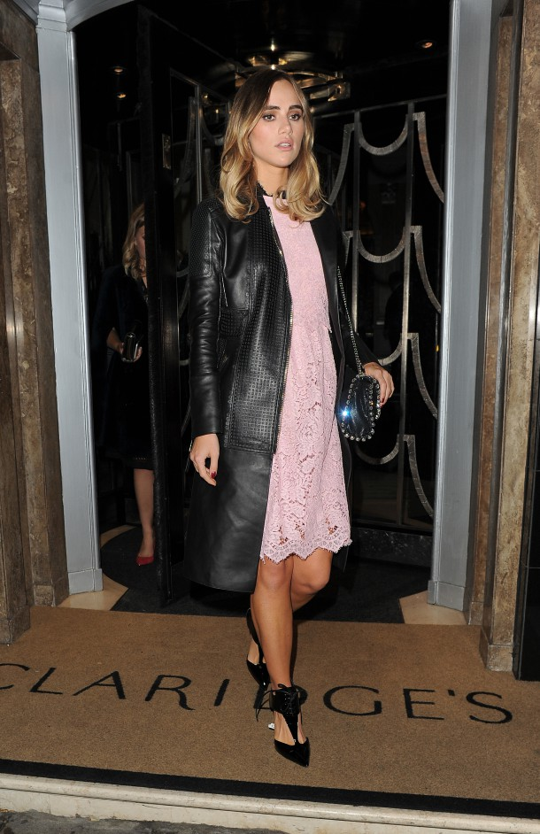 Celebrities at the Love Magazine Party, held at Lou Lou's Featuring: Suki Waterhouse Where: London, United Kingdom When: 22 Sep 2015 Credit: Will Alexander/WENN.com