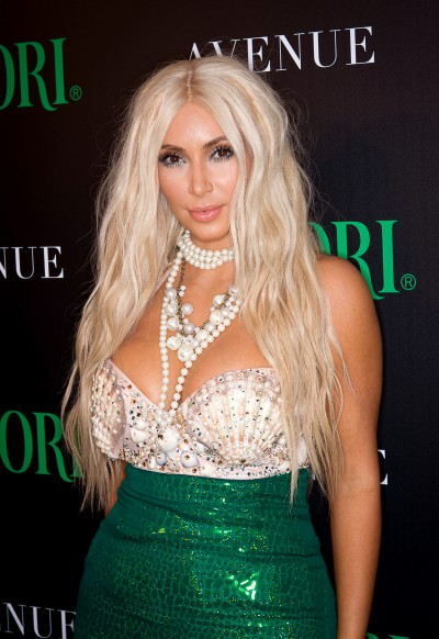 NEW YORK, NY - OCTOBER 27:  Kim Kardashian attends 2nd Annual Midori Green Halloween Party at Avenue on October 27, 2012 in New York City.  (Photo by Dave Kotinsky/Getty Images)