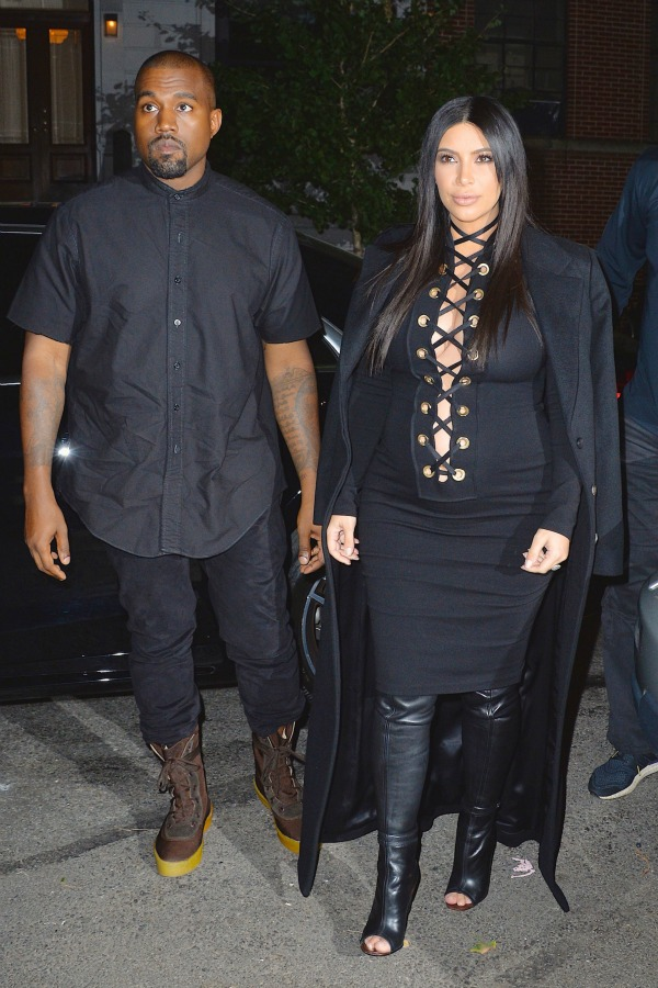 Kim Kardashian and Kanye West seen out and about Featuring: Kanye West, Kim Kardashian Where: New York City, New York, United States When: 14 Sep 2015 Credit: WENN.com **Only available for publication in Germany, Austria, Switzerland**