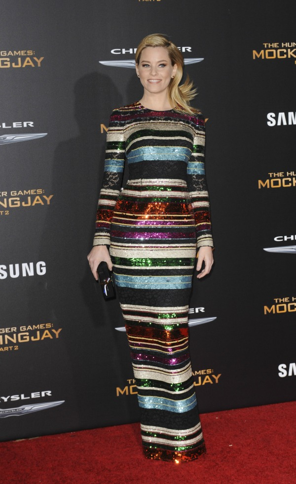 The Hunger Games Mockinngjay Part 2 Featuring: Elizabeth Banks Where: Los Angeles, California, United States When: 17 Nov 2015 Credit: Apega/WENN.com