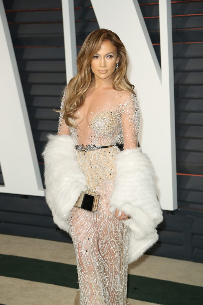 Celebrities attend 2015 Vanity Fair Oscar Party at Wallis Annenberg Center for the Performing Arts with City Hall in Beverly Hills. Featuring: Jennifer Lopez Where: Los Angeles, California, United States When: 22 Feb 2015 Credit: Brian To/WENN.com