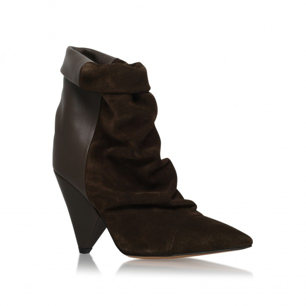 Isabel Marant ankle boots, currently €590 both at Brown Thomas