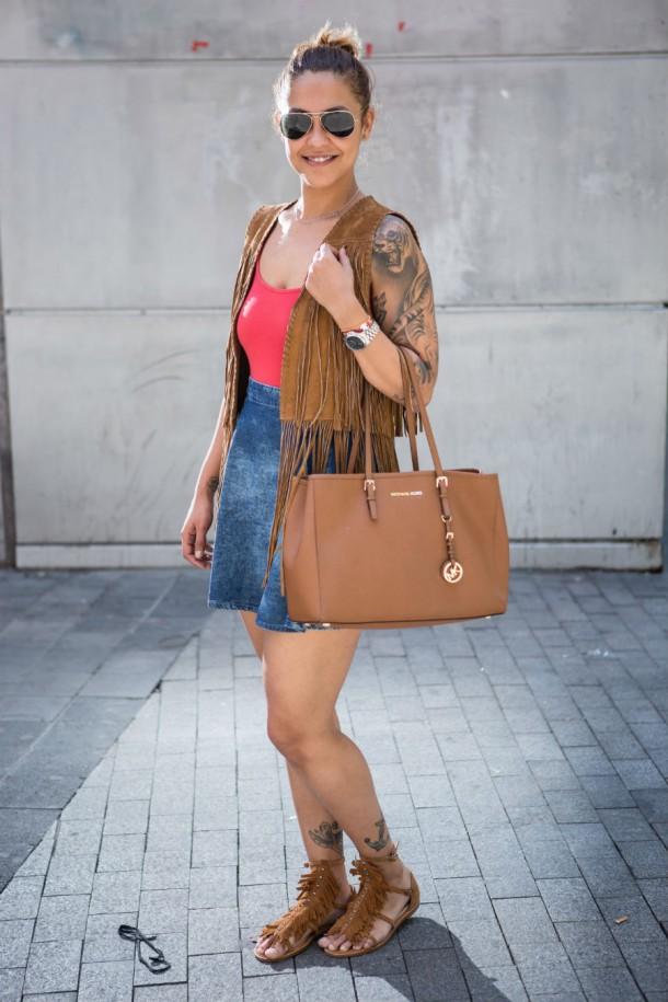 mk bag street style