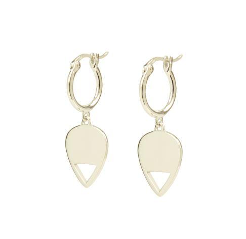 Plectrum Silver Earrings €65