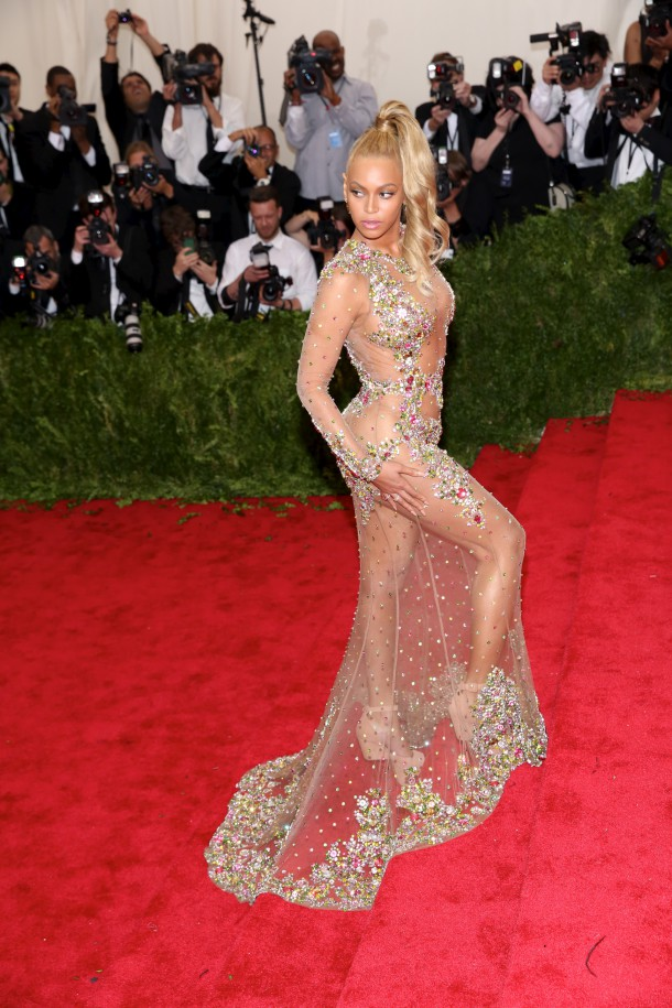 MET Gala 2015 'China: Through The Looking Glass' Costume Institute Benefit Gala at the Metropolitan Museum of Art - Arrivals Featuring: Beyonce Knowles Where: New York, New York, United States When: 04 May 2015 Credit: Andres Otero/WENN.com