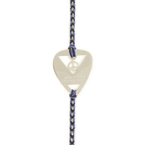 You Make Loving Fun Blue Cord Bracelet €89
