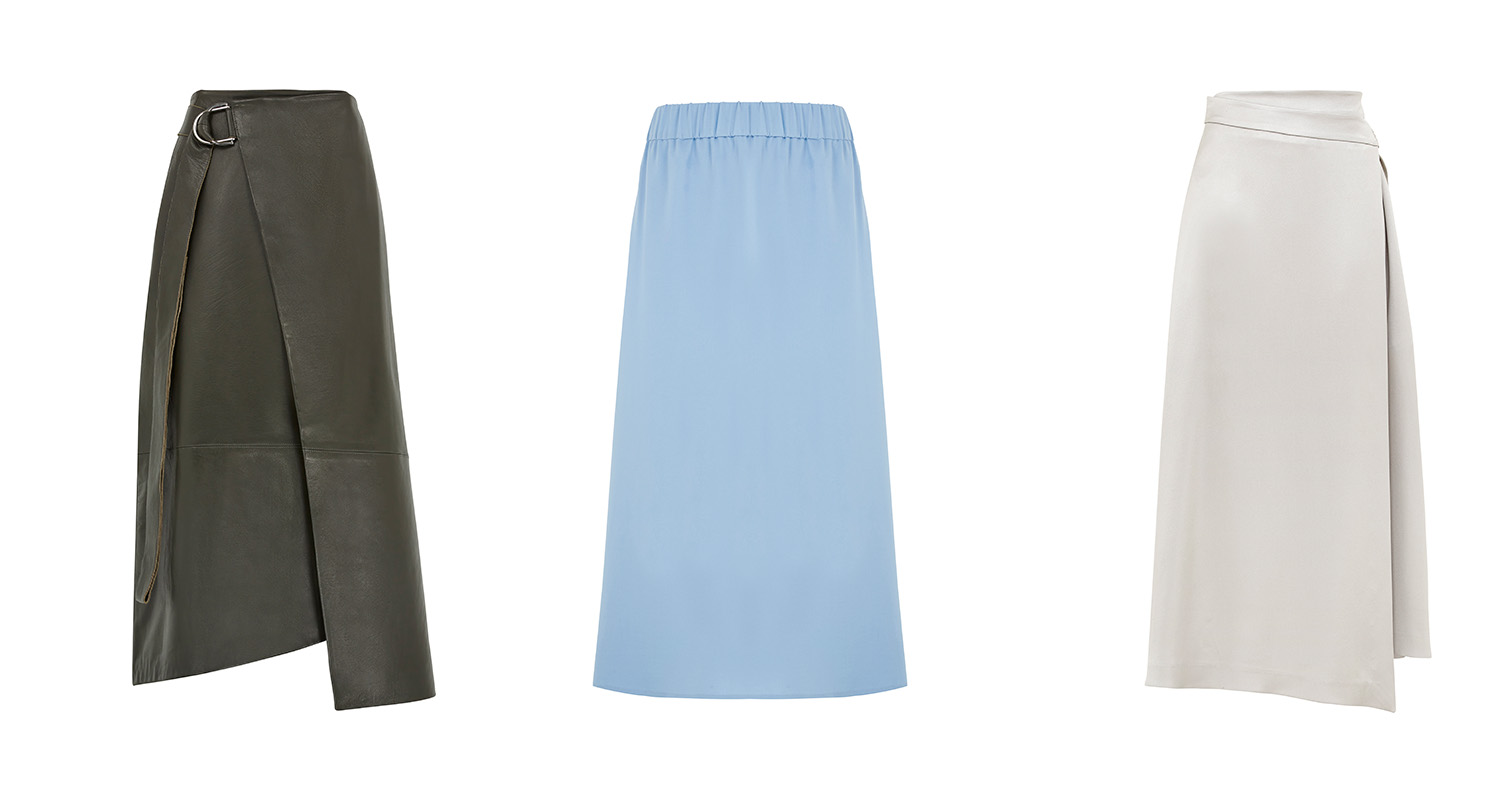 All skirts above from M&S to land in store across the season