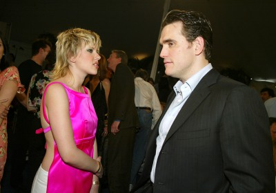 SANTA MONICA, CA - MARCH 22: Actress Scarlett Johansson and Matt Dillon attend the 2003 IFP Independent Spirit Awards on March 22, 2003 in Santa Monica, California. (Photo by Kevin Winter/Getty Images)