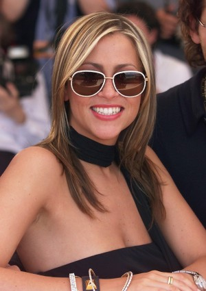 "CANNES, FRANCE: Canadian-born actress Nicole Appleton poses during the photocall of British director and ex-Eurytmics singer Dave Stewart first movie, ""Honest"", 15 May 2000 in Cannes. ""Honest"" is presented out of competition at the 53rd Cannes Film Festival. AFP PHOTO JACK GUEZ (Photo credit should read JACK GUEZ/AFP/Getty Images)"