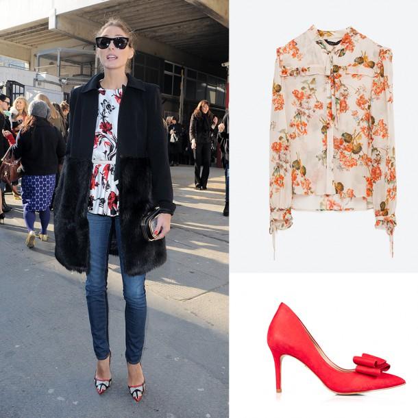 Blouse, Zara; Shoes, KG by Kurt Geiger