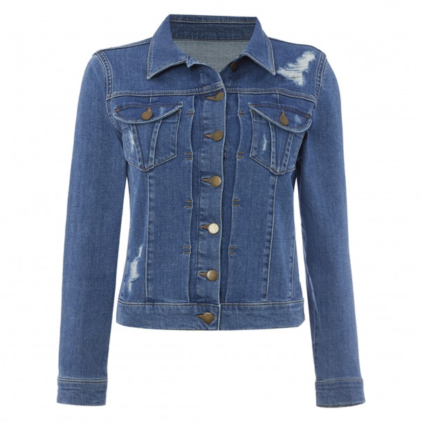 Denim jacket by Savannah Miller at Debenhams