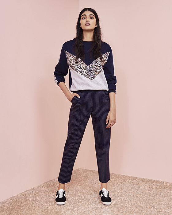 Sweatshirt and Trousers, Topshop