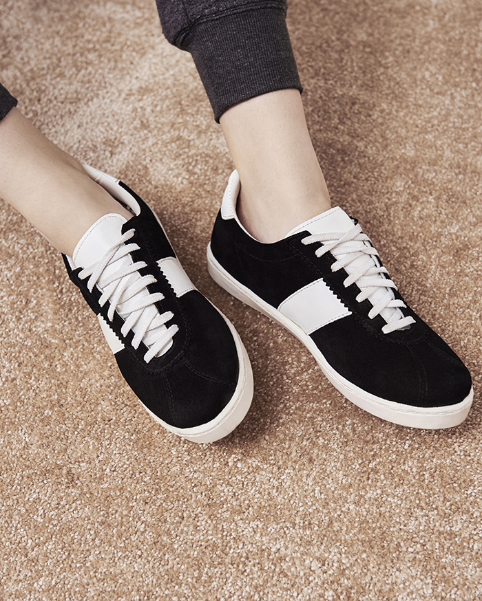 Suede trainers, Topshop
