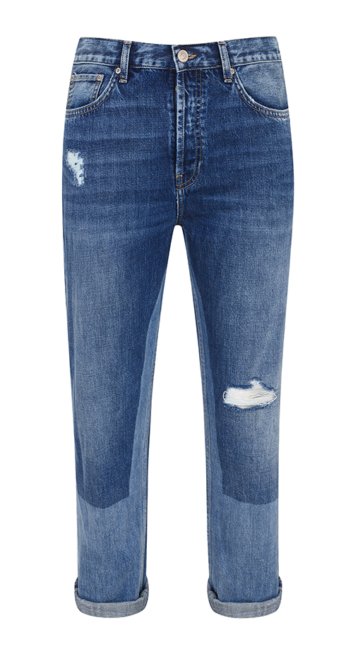 Boyfriend style jeans, from a selection at Topshop