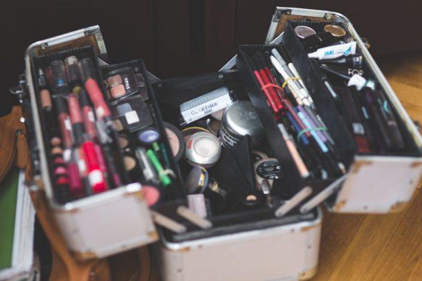 beauty case, make up