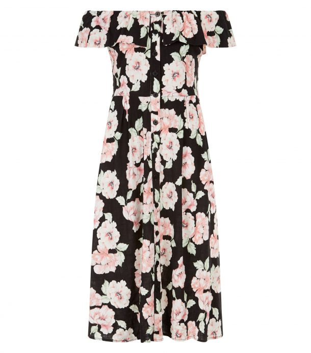 Floral dress, €29.99, New Look (in store this May)