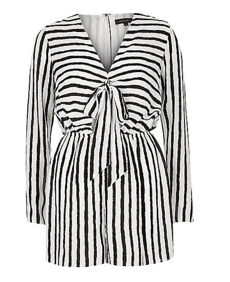 Playsuit, €50, River Island