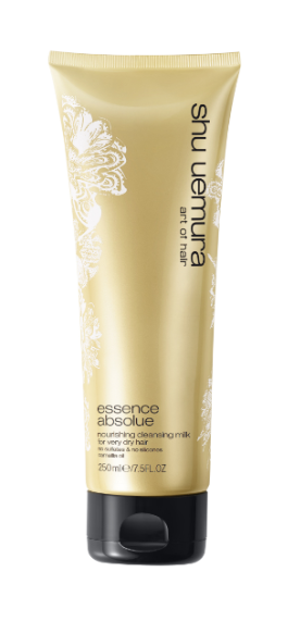 shu uemura train your hair to last longer between shampoos