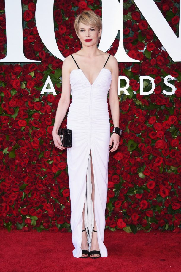 NEW YORK, NY - JUNE 12: Actress Michelle Williams attends the 70th Annual Tony Awards at The Beacon Theatre on June 12, 2016 in New York City. (Photo by Dimitrios Kambouris/Getty Images for Tony Awards Productions)