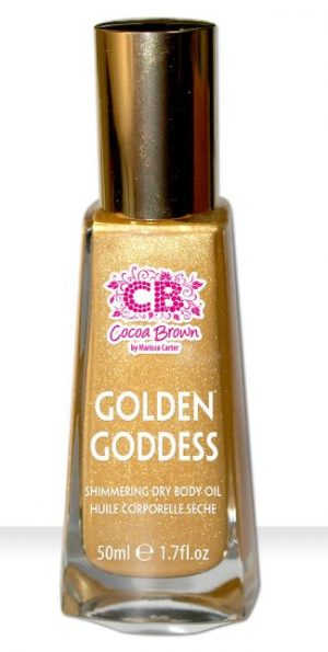 cocoa brown body shimmer dry oils