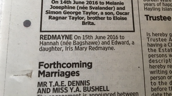 eddie redmayne baby