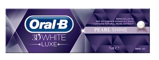 Oral B 3D White Luxe Pearl Shine Toothpaste