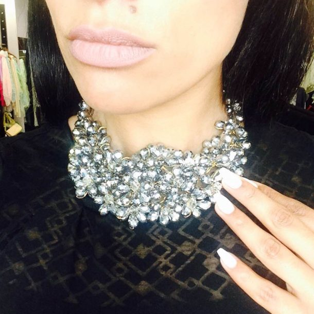 Bling Necklace For Round Neck Heavenly Clane