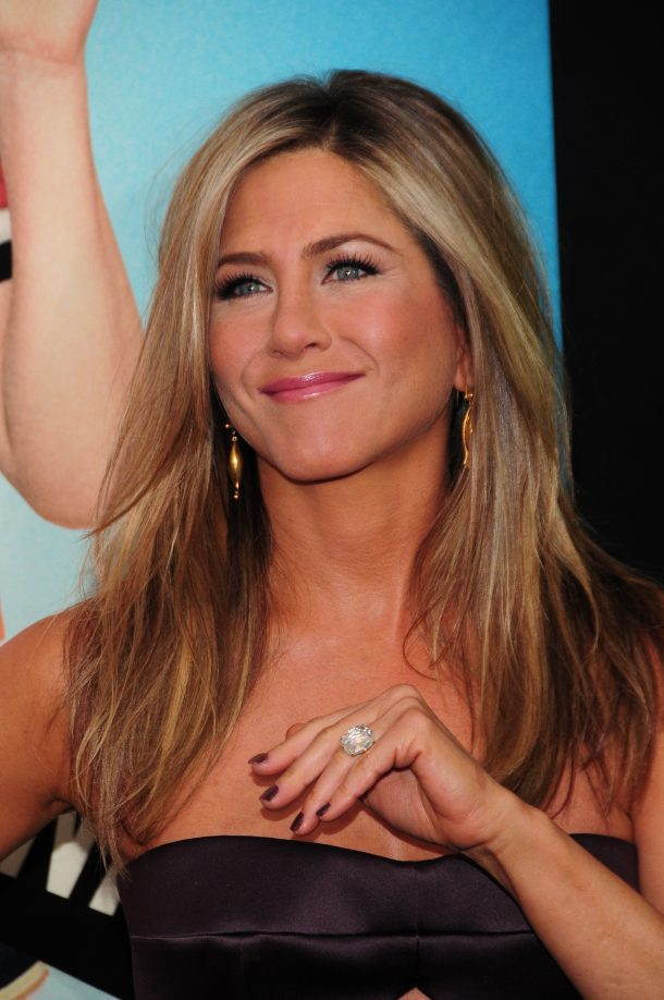 World premiere of 'We're The Millers' at the Ziegfeld theater Featuring: Jennifer Aniston Where: NY, NY, United States When: 01 Aug 2013 Credit: Dan Jackman/WENN.com