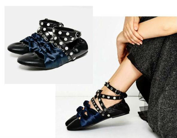 zara ballerina slippers