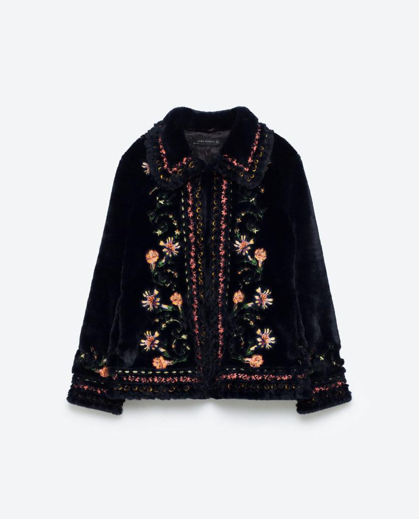 Amy Huberman's jacket zara