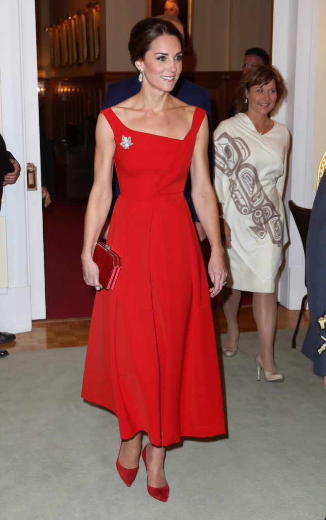 Kate Middleton Preen Dress Canada