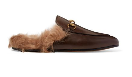 gucci-leather-shearling-slippers