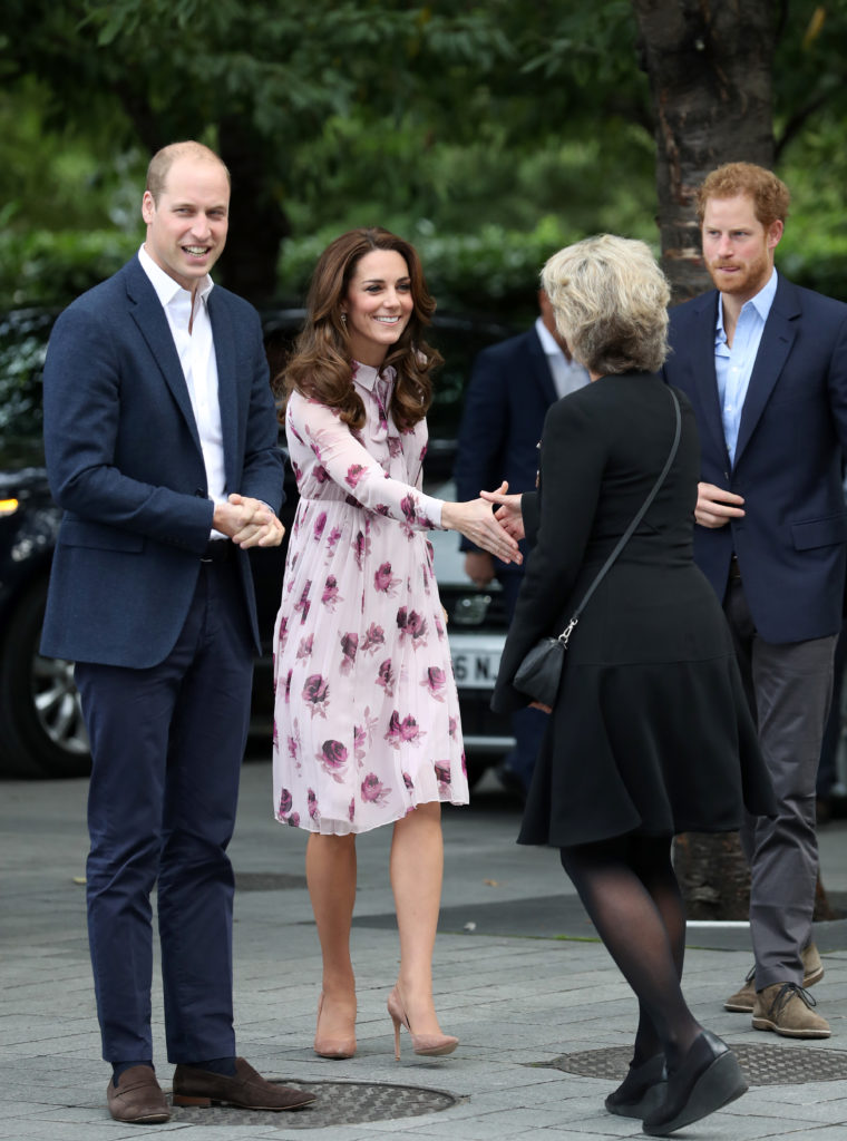 The Duke and Duchess Of Cambridge And Prince Harry Celebrate World Mental Health Day At The London Eye With Heads Together