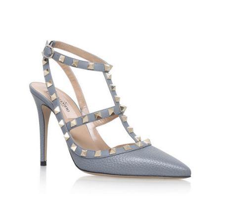 valentino blue wedding shoes
